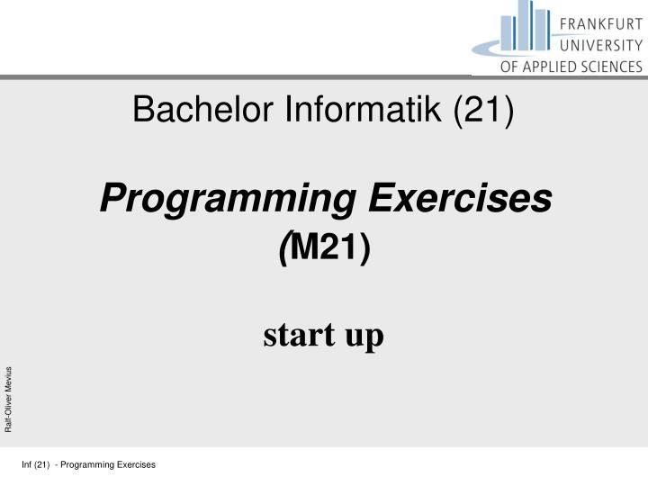 Bachelor Informatik (21)