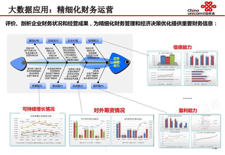 大数据应用:精细化财务运营