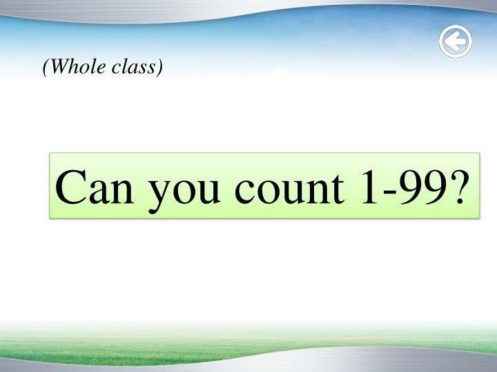 (Whole class)