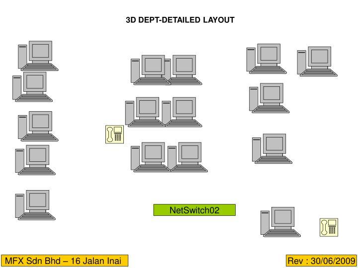 3D DEPT-DETAILED LAYOUT