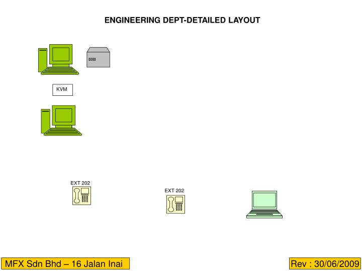 ENGINEERING DEPT-DETAILED LAYOUT