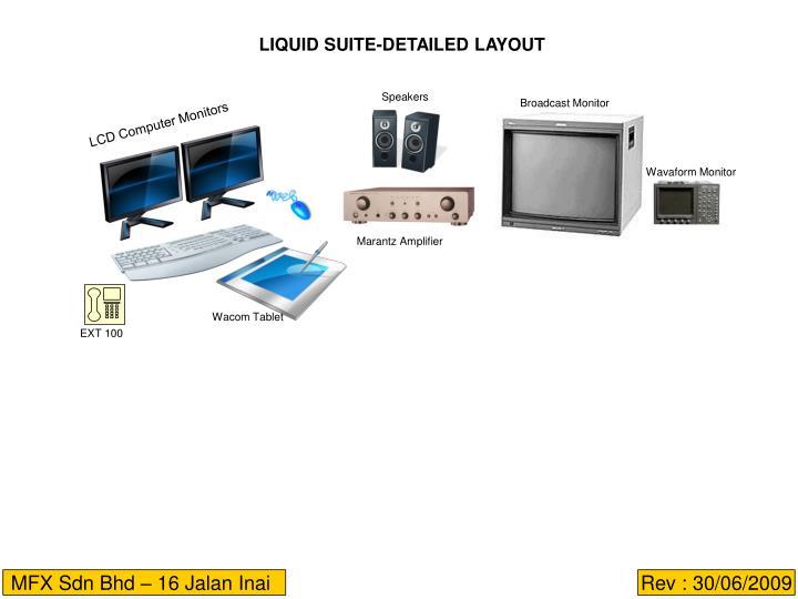 LIQUID SUITE-DETAILED LAYOUT
