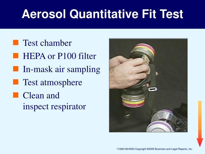 Aerosol Quantitative Fit Test