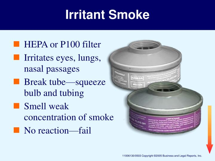 Irritant Smoke