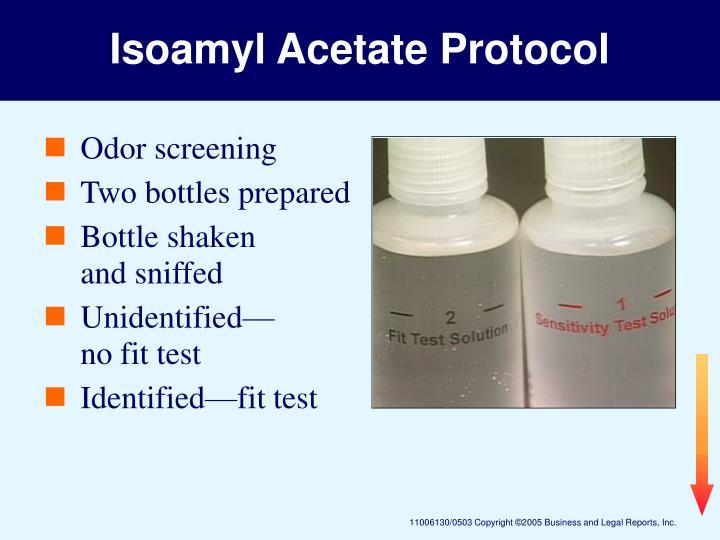Isoamyl Acetate Protocol