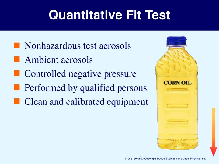 Quantitative Fit Test