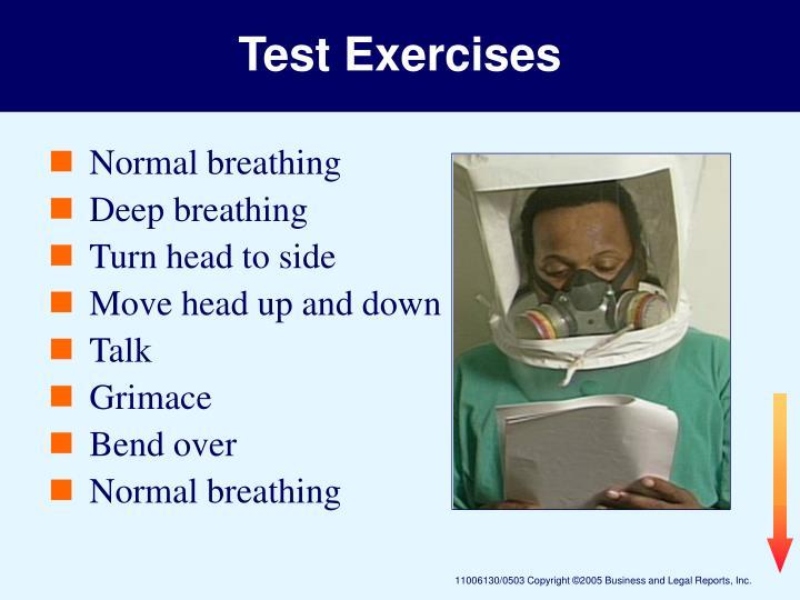Test Exercises