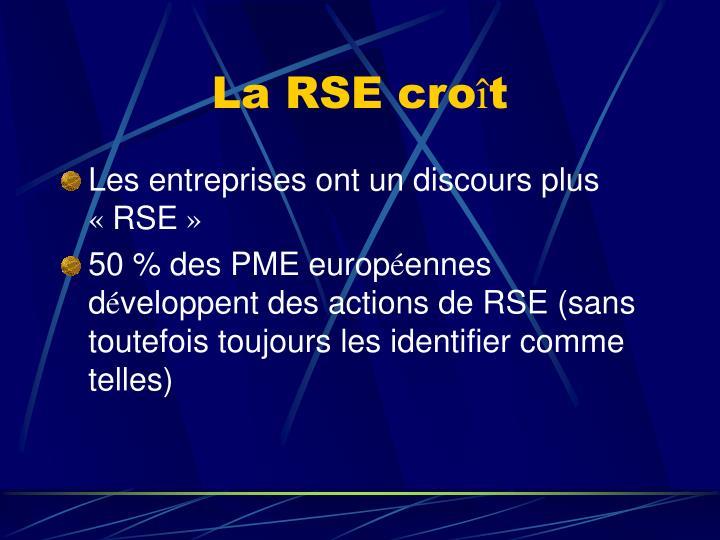 La RSE cro