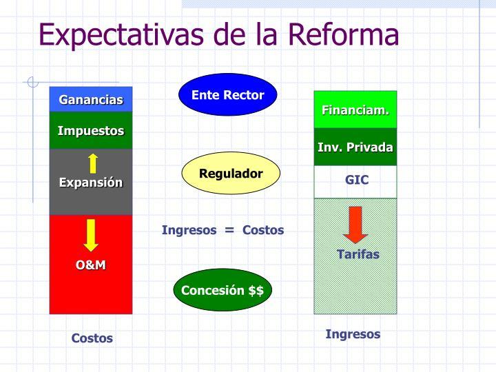 Expectativas de la Reforma