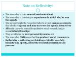 note on reflexivity 5
