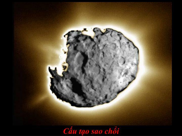 Cấu tạo sao chổi