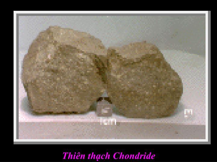 Thiên thạch Chondride