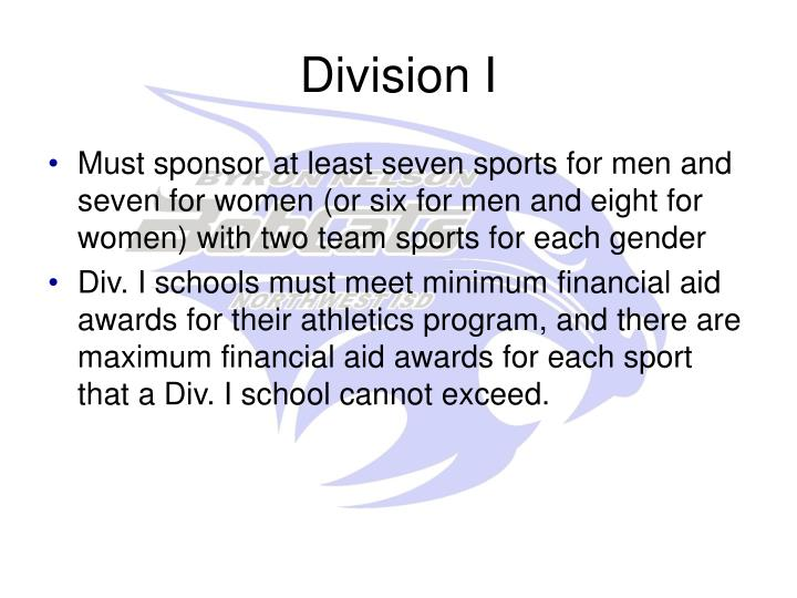 Division I