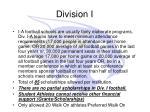 division i1