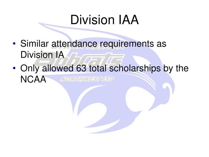 Division IAA
