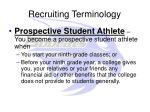 recruiting terminology7