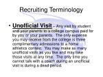 recruiting terminology9
