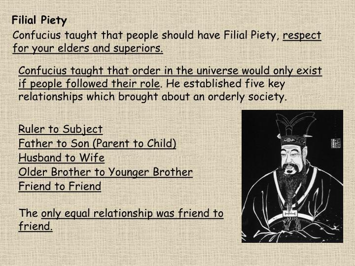 Filial Piety