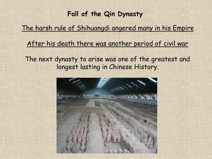 Fall of the Qin Dynasty