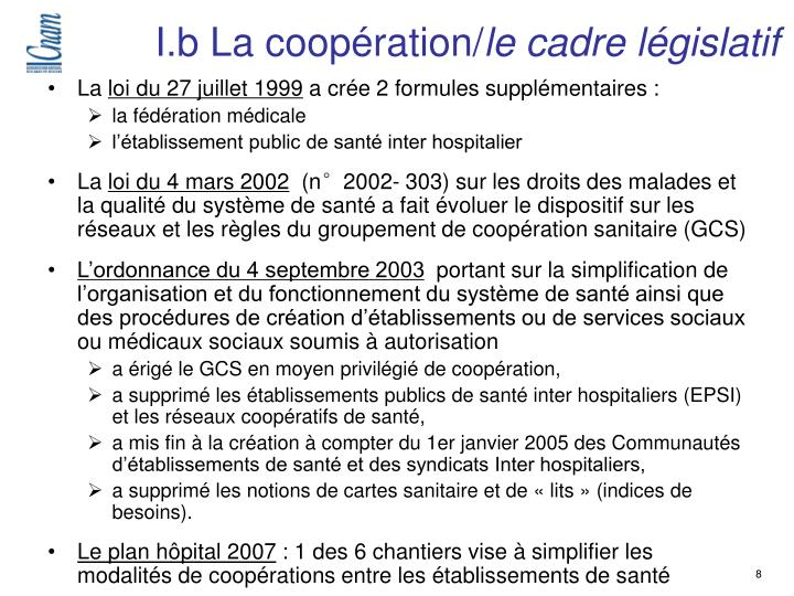 I.b La coopération/