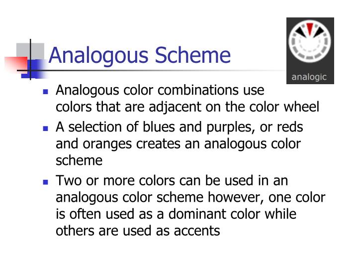 Analogous Scheme