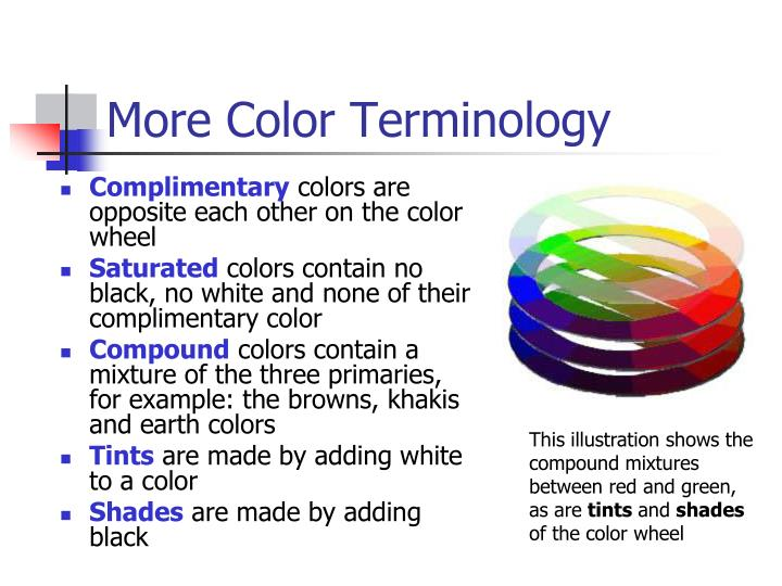 More Color Terminology