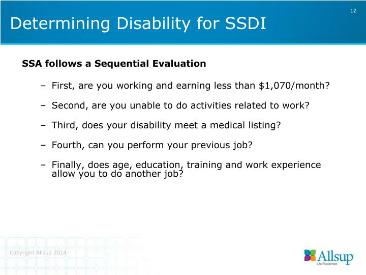 SSA follows a Sequential Evaluation