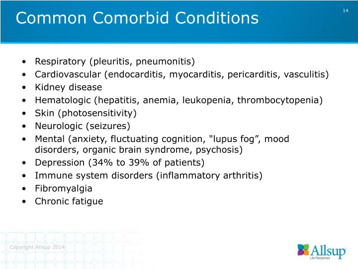 Common Comorbid Conditions