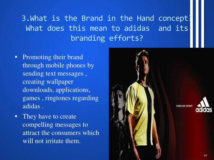 3.What is the Brand in the Hand concept? What does this mean to