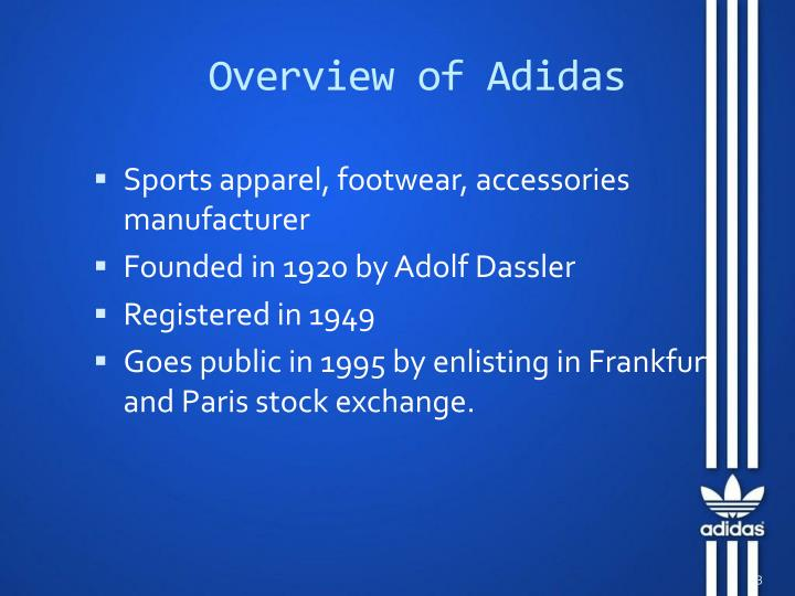Overview of Adidas