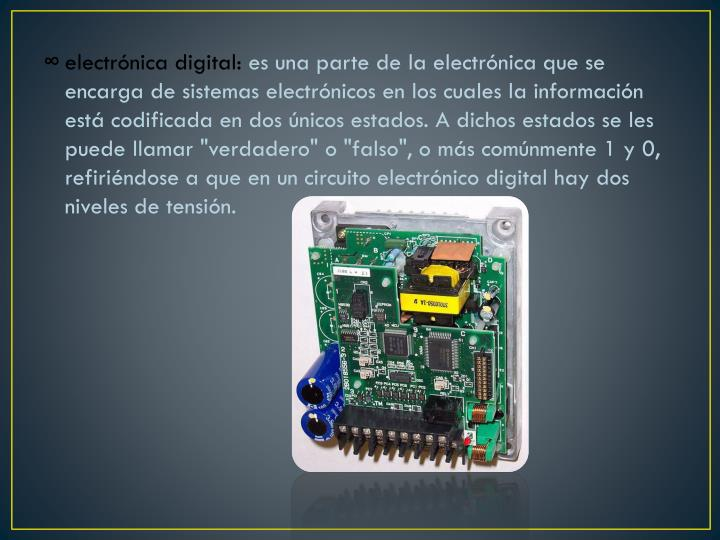 electrónica digital: