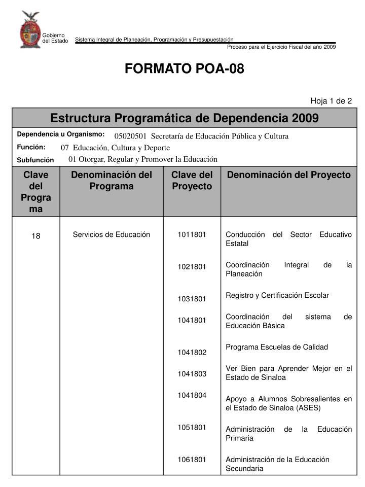 05020501  Secretaría de Educación Pública y Cultura