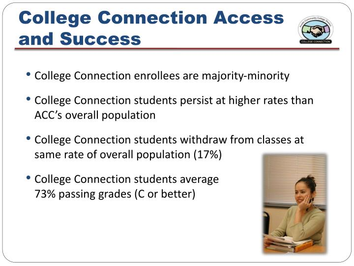 College Connection Access and Success