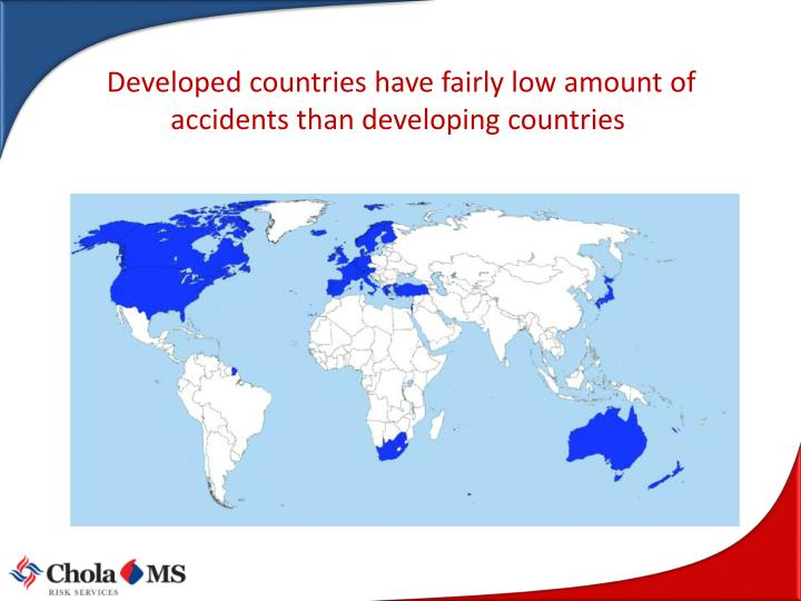 Developed countries have