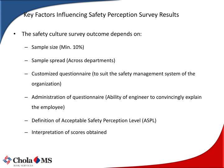 Key Factors Influencing Safety