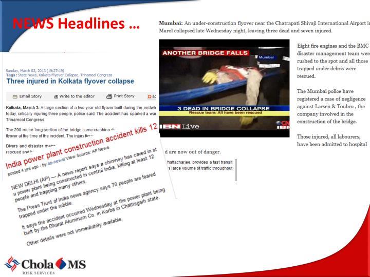 NEWS Headlines …