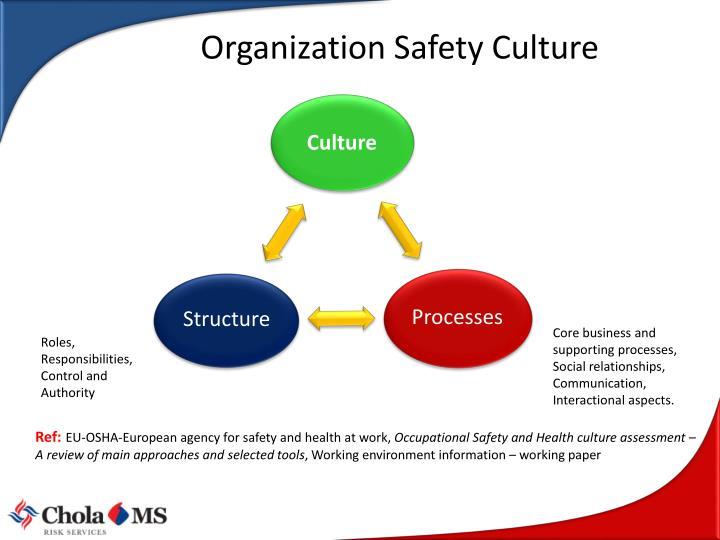 Organization Safety Culture