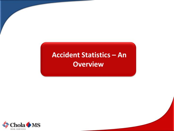 Accident Statistics – An Overview