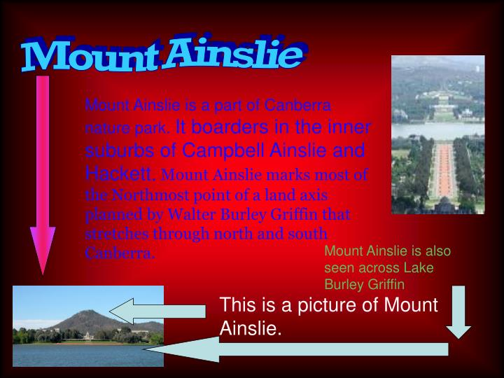 Mount Ainslie
