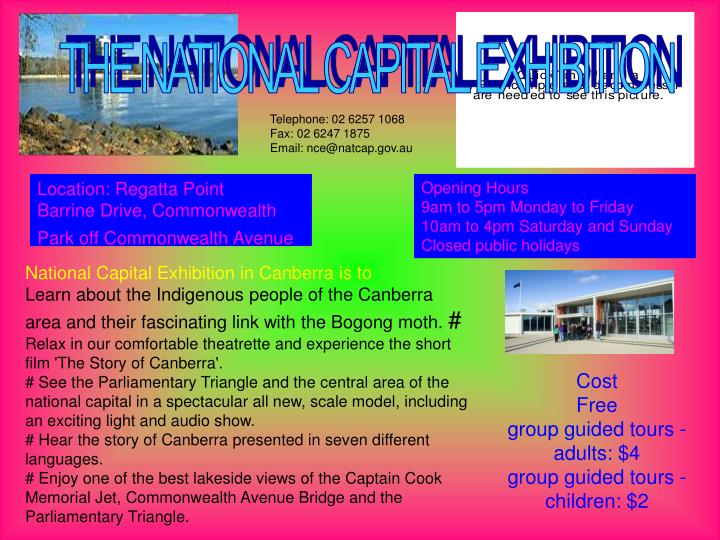 THE NATIONAL CAPITAL EXHIBITION