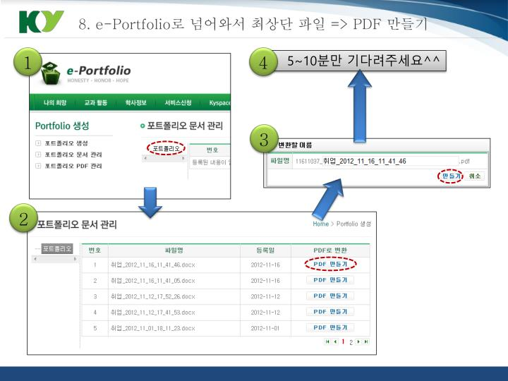 8. e-Portfolio