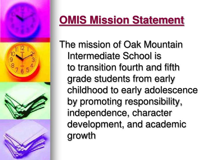 Omis mission statement