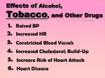 effects of alcohol tobacco and other drugs1