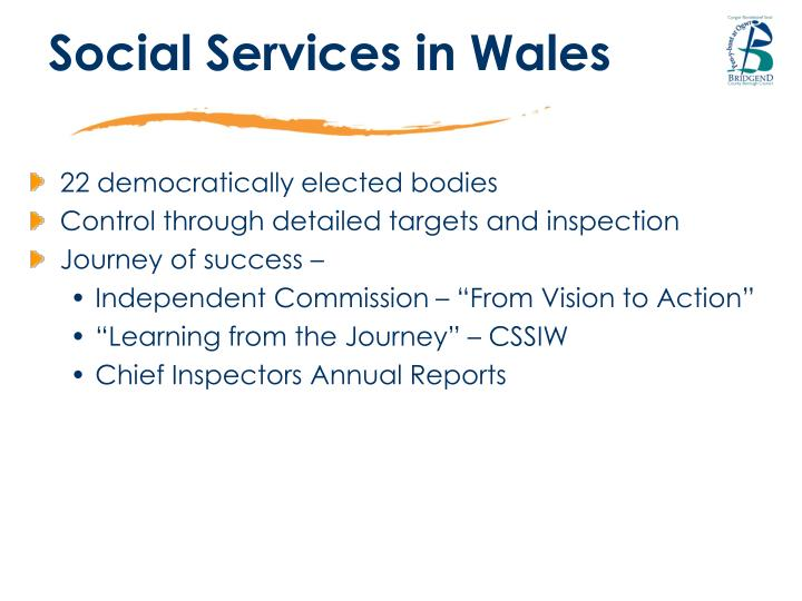 Social Services in Wales