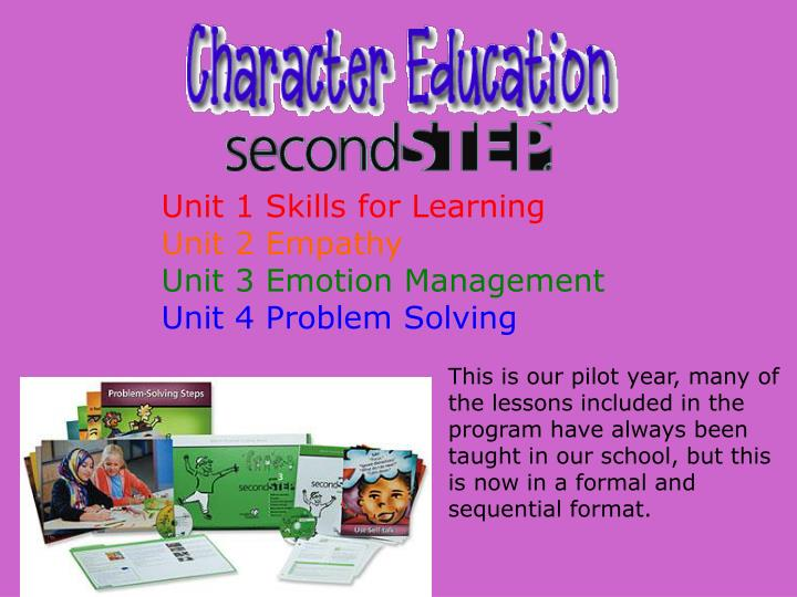 Unit 1 Skills for Learning