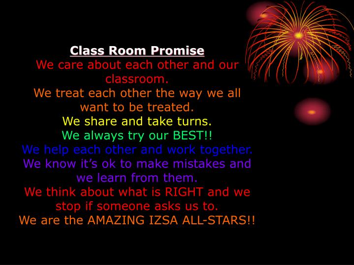 Class Room Promise