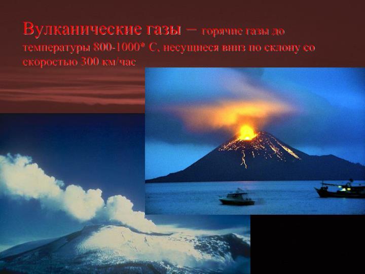 Вулканические газы