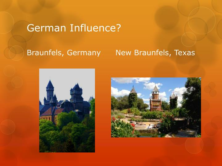 German Influence?