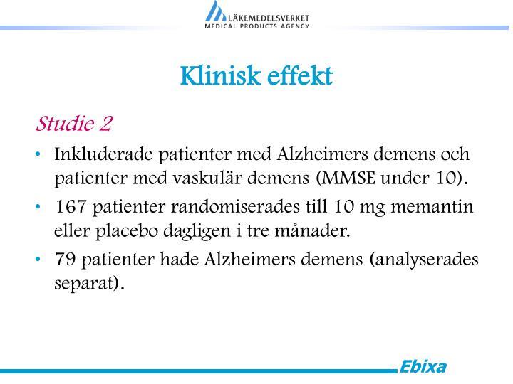 Klinisk effekt