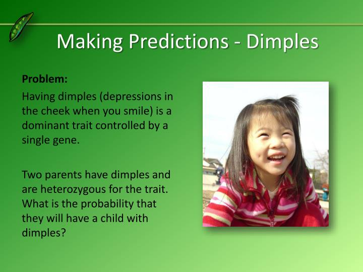 Making Predictions - Dimples